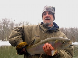 Guided Trout Fishing Manistee MI